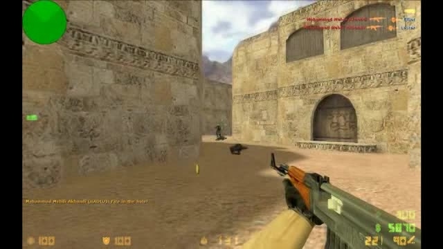 (۴) mohammad mehdi akhondi replay counter strike