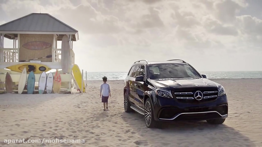 مرسدس بنز gls 2017_video brochure mbusa